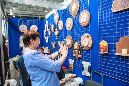 В Сокольниках открылась выставка «Формула рукоделия»